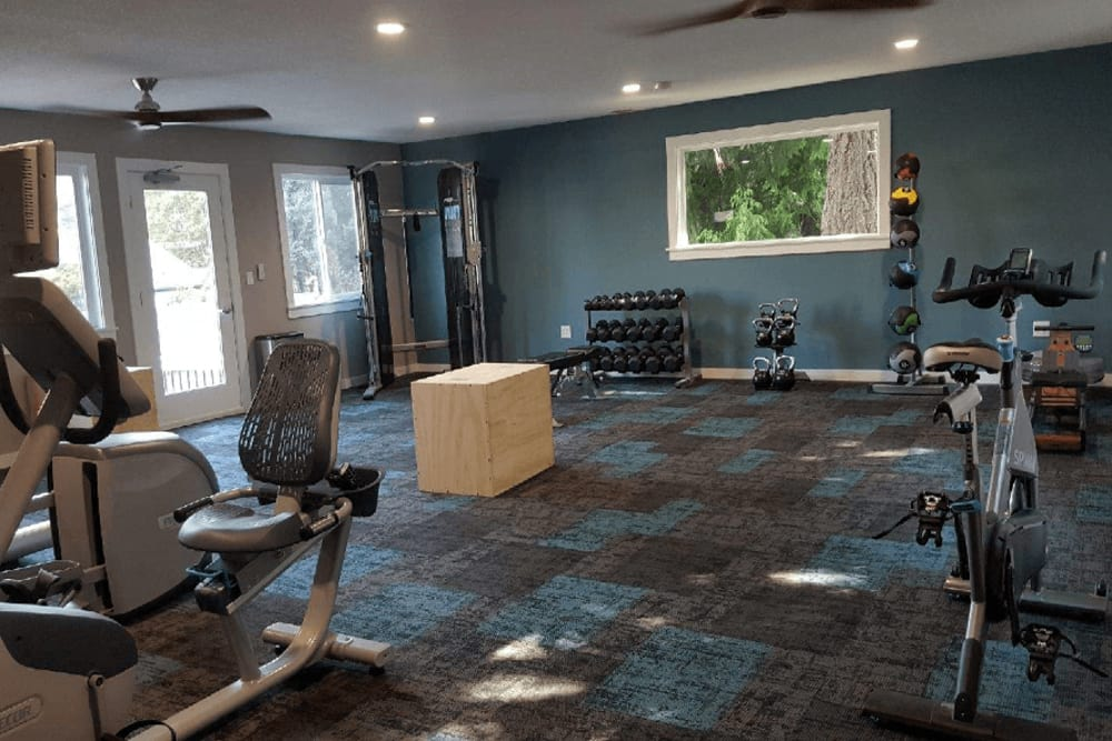 Our beautiful apartments in Beaverton, Oregon showcase a fitness center