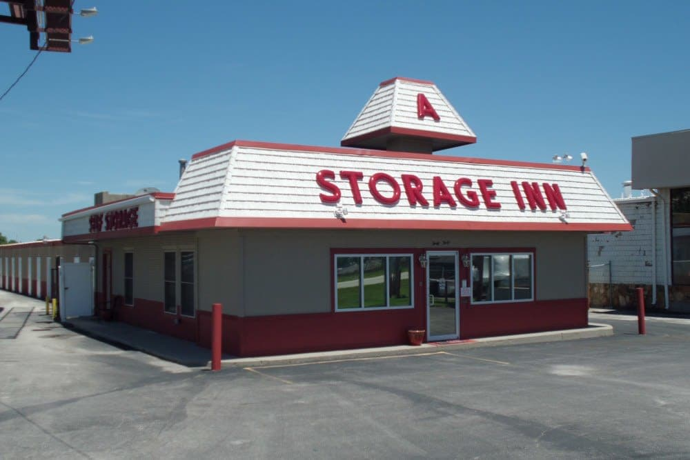 Exterior view at A Storage Inn - Cave Springs in Saint Peters