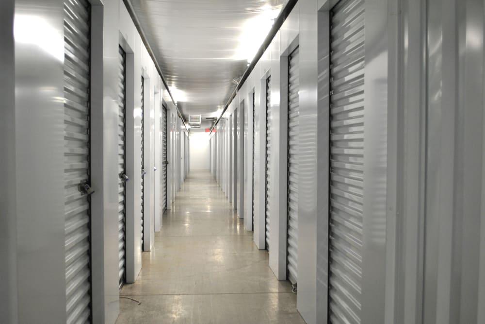 Interior view of units at CT SELF STOR