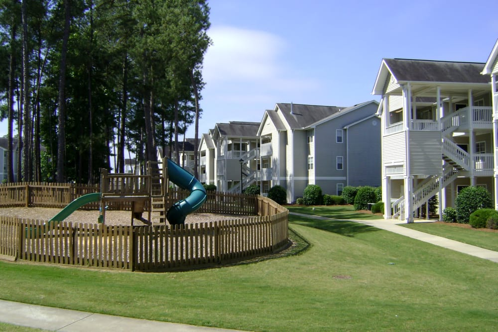 Beautiful playground at apartments in Columbia, South Carolina