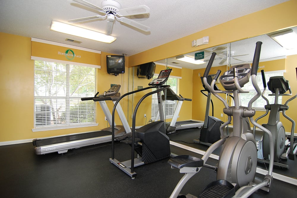 Our apartments in Columbia, South Carolina showcase a beautiful fitness center