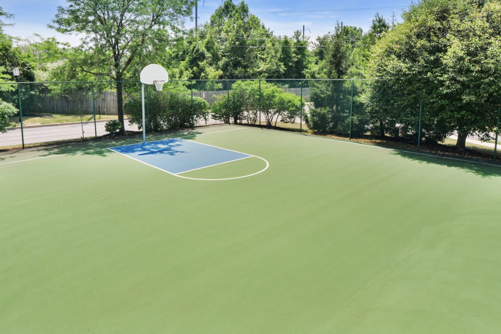Abrams Run Apartment Homes offers a basketball court in King of Prussia, PA