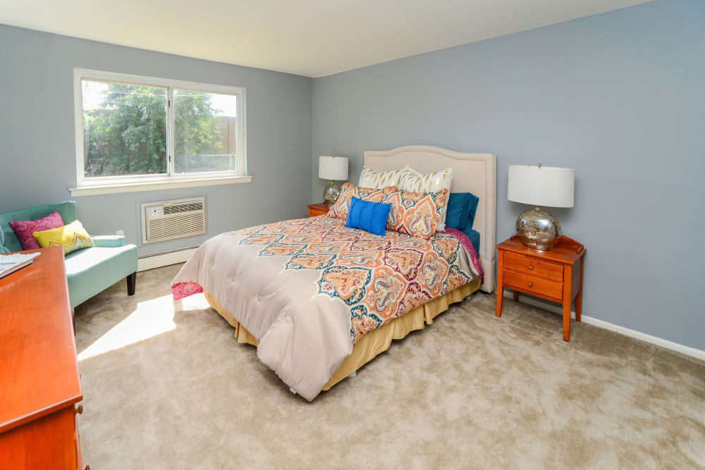 Camp Hill Apartment Homes offers a spacious bedroom in Camp Hill, PA