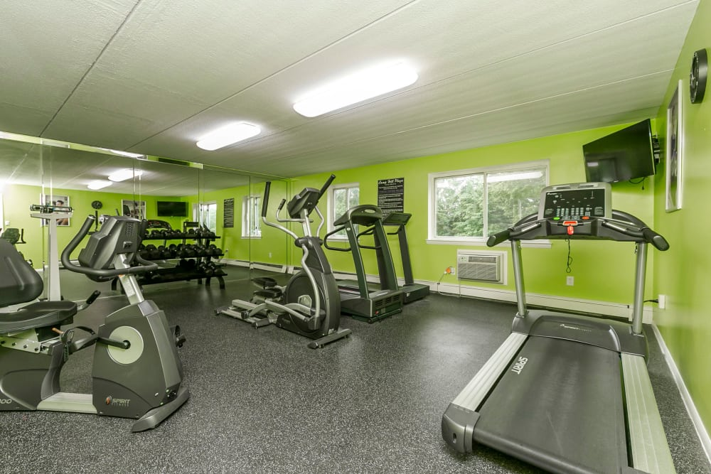 Camp Hill Apartment Homes offers a fitness center in Camp Hill, PA