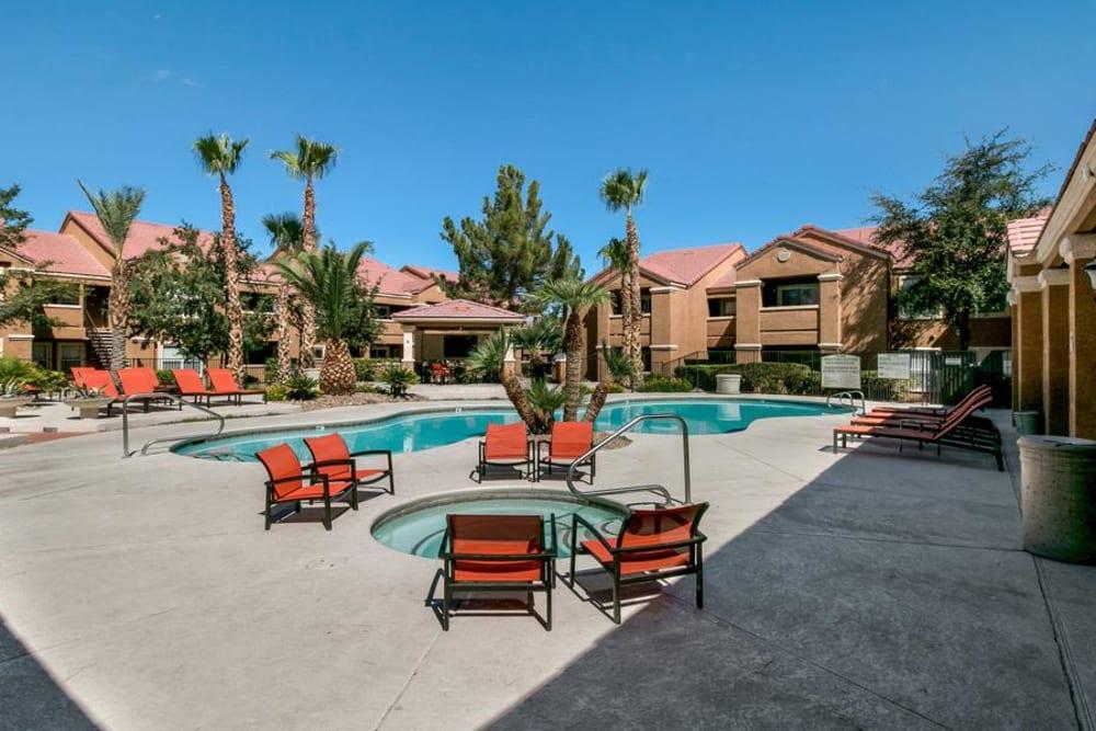 Enjoy Apartments with a Swimming Pool at Ascent at Silverado