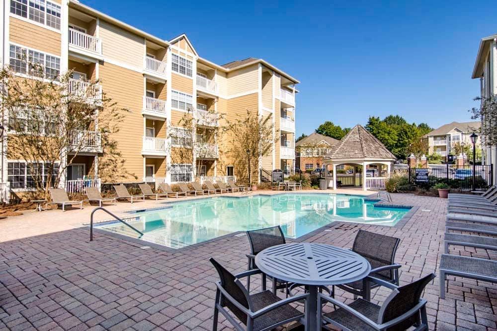 Pool at Jefferson at Perimeter Apartments