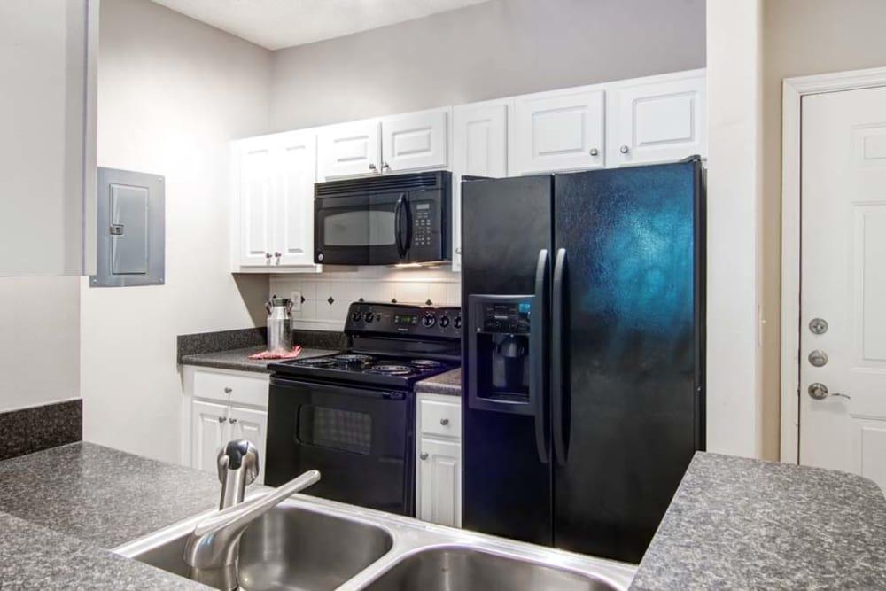Kitchen at Jefferson at Perimeter Apartments