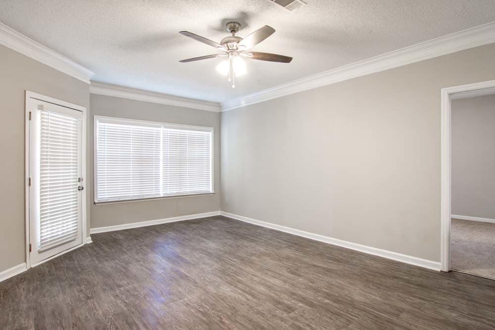 Living Room at Jefferson at Perimeter Apartments