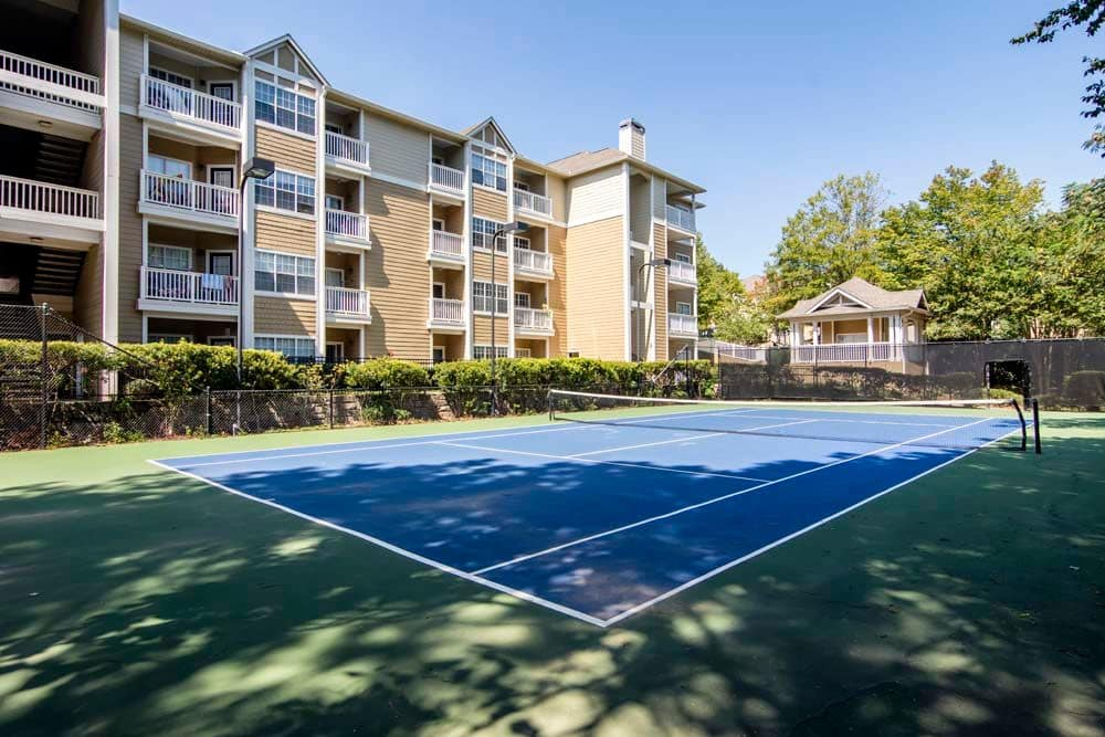 Tennis Court at Jefferson at Perimeter Apartments