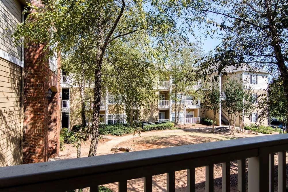 Balcony at Jefferson at Perimeter Apartments