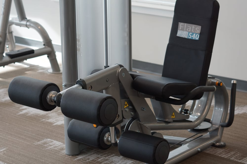 Fitness room at Flats At 540