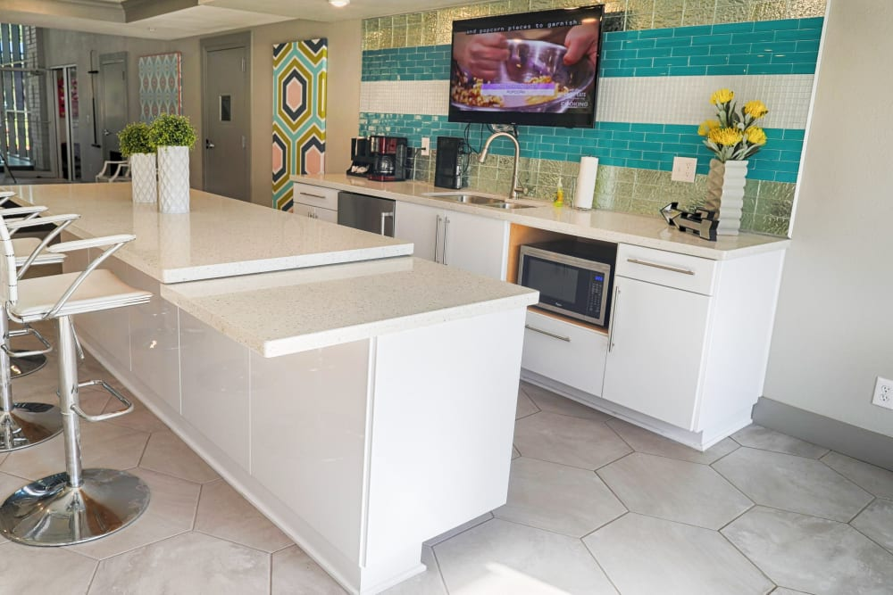 Nice clean kitchen in our Houston, TX apartments