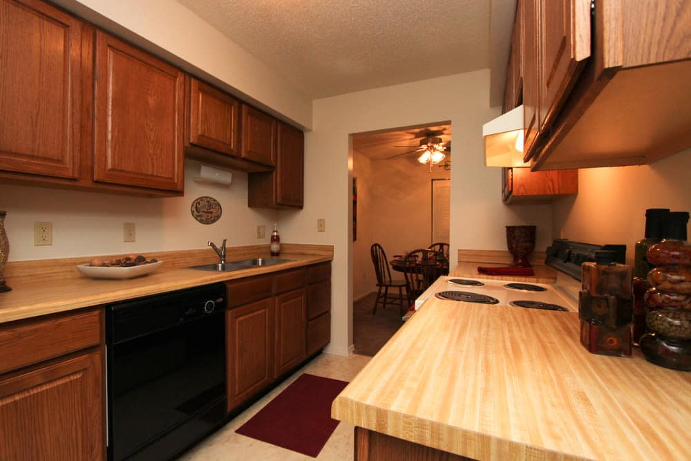 Standard Kitchen Package at Village Green Apartments in Evansville, IN
