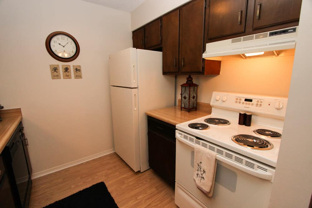Our apartments in Evansville, Indiana offer a kitchen