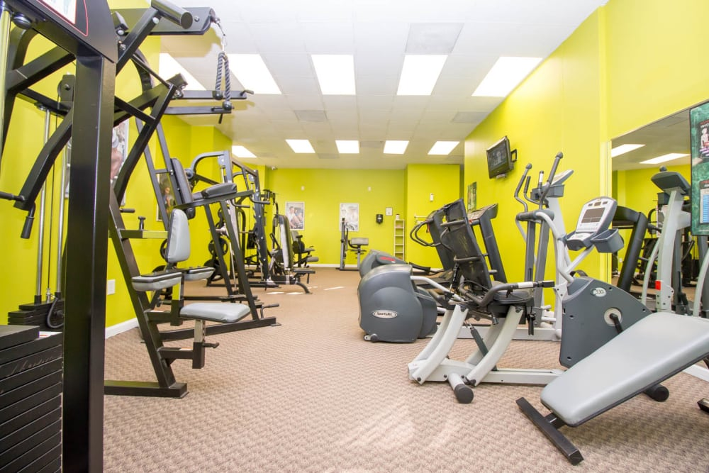 River Park Tower Apartment Homes offers a fitness center in Newport News, VA