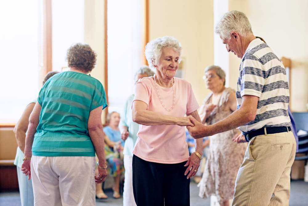 Comfort Residence residents are happy and thriving.