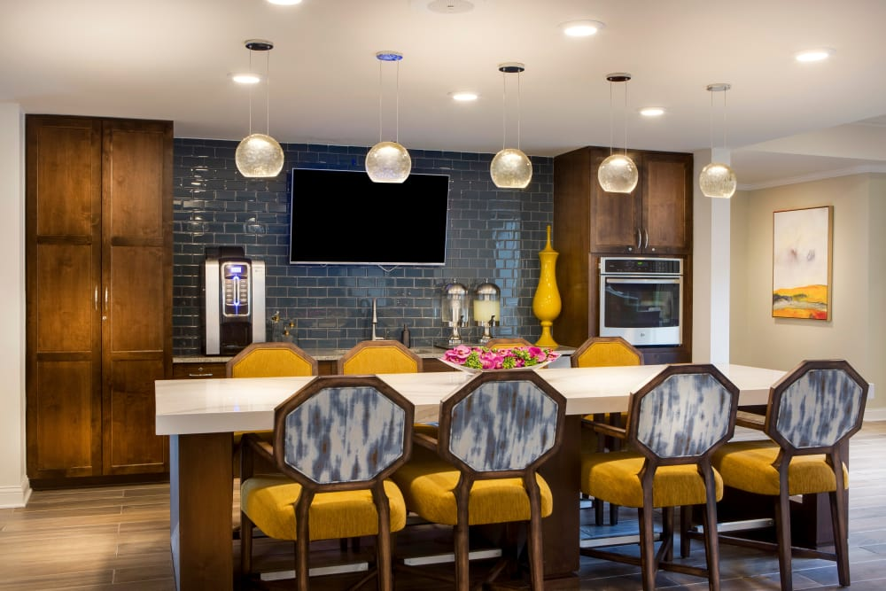 Bright kitchen at Stonecrest at Burlington Creek in Kansas City