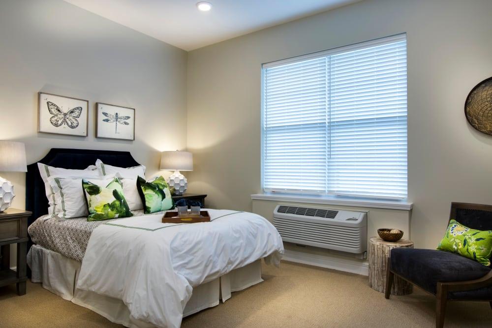Bright bedroom at Stonecrest at Burlington Creek in Kansas City