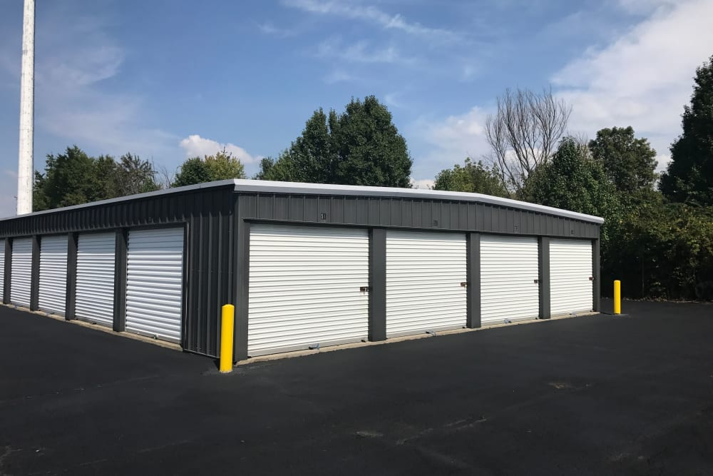 Variety of unit sizes at Green Meadows Self Storage in Lewis Center, OH