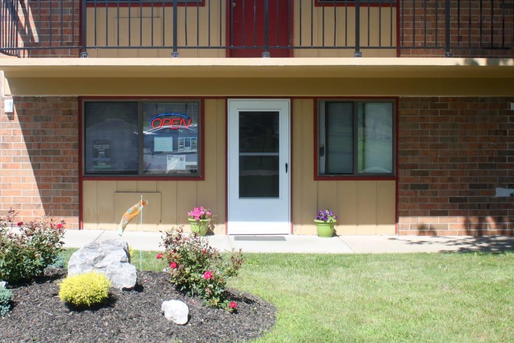 Exterior of apartments at Campus Edge at Brigham