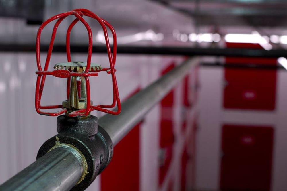 State-of-the-Art sprinkler system at U-Lock Mini Storage