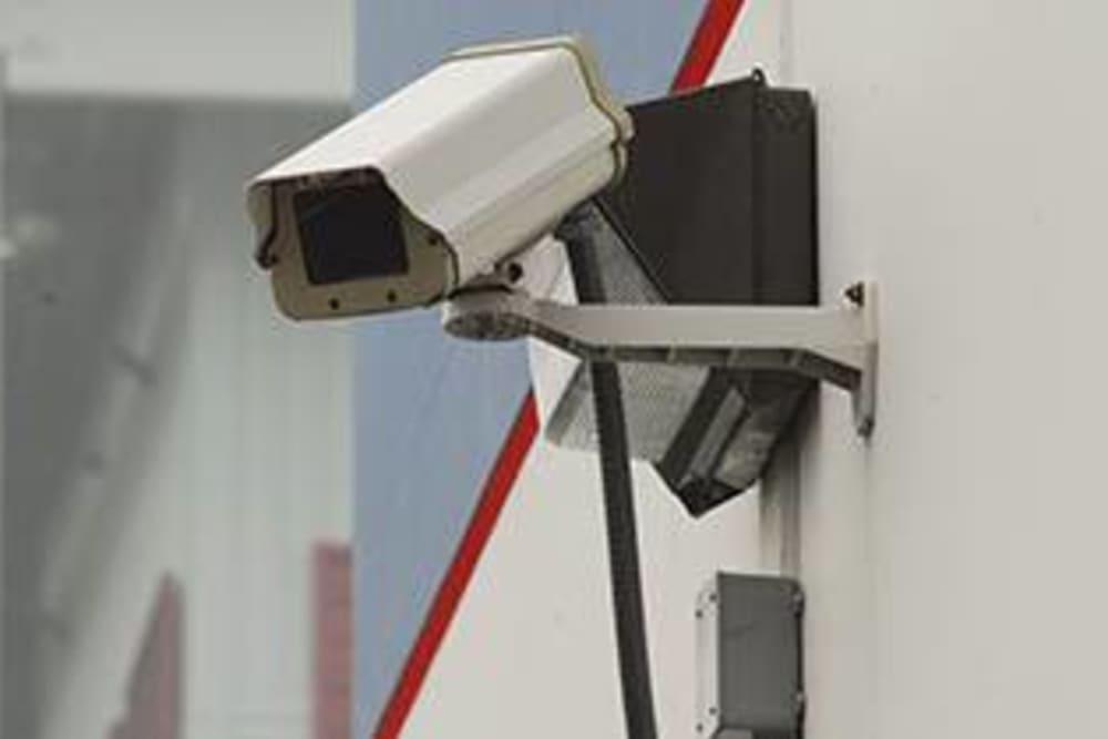 Security camera at U-Lock Mini Storage