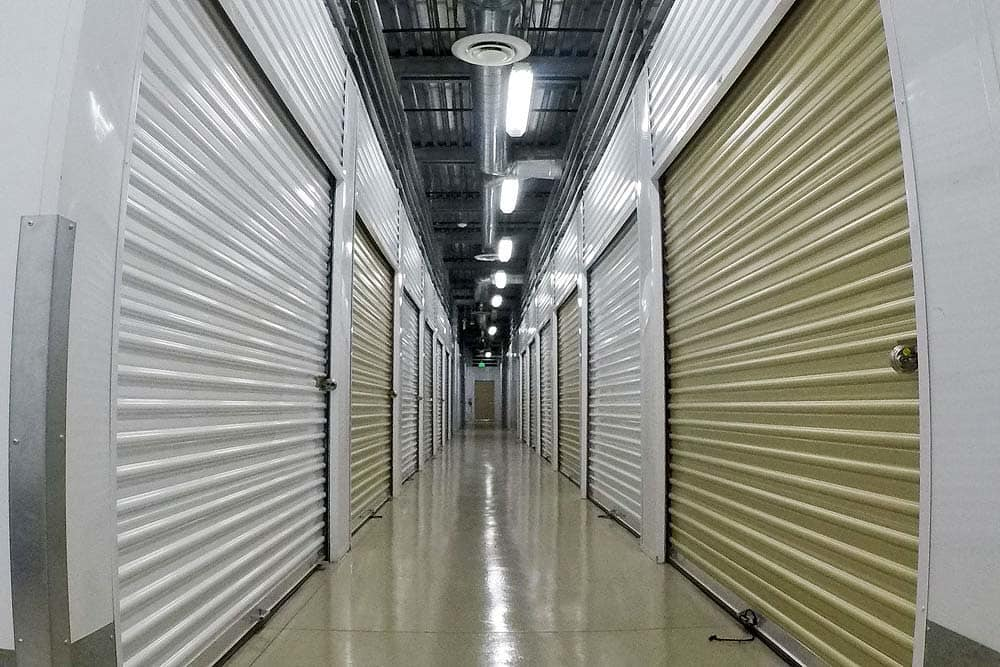 Clovis Storage & Executive Office Suites interior storage units