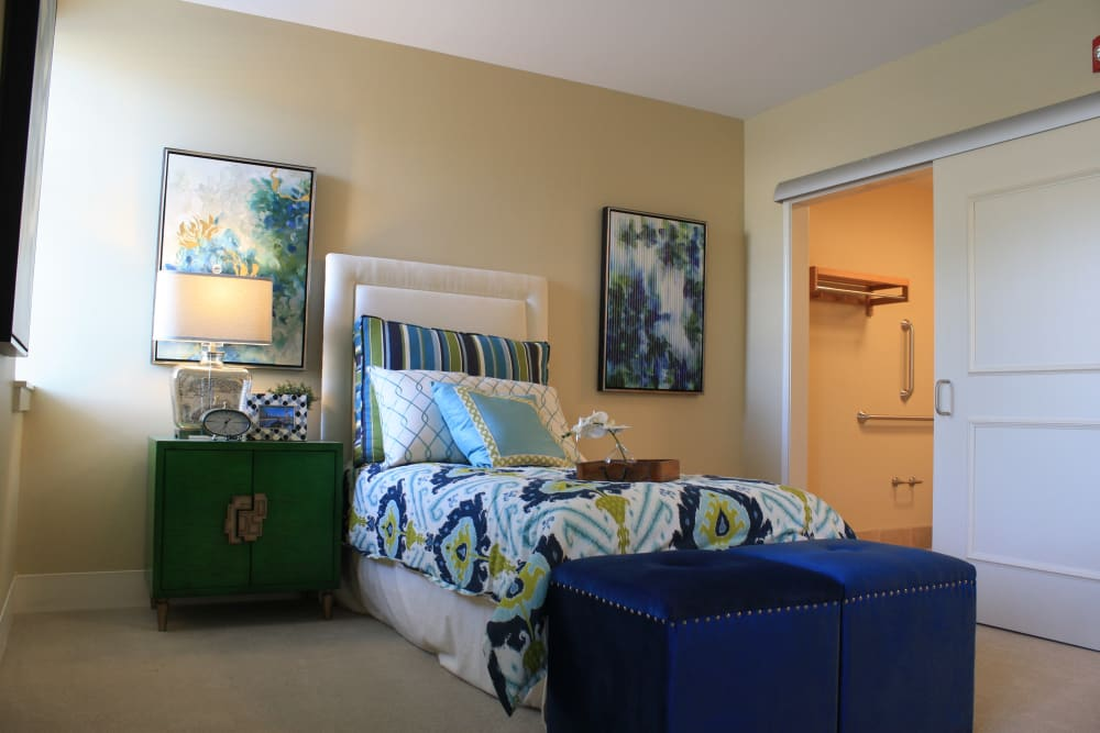 Bedroom at Aspired Living of Westmont
