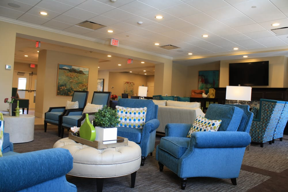 Common area at Aspired Living of Westmont