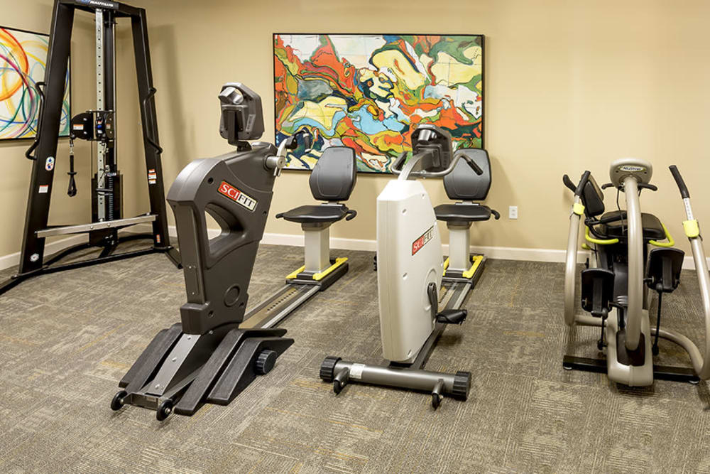 fitness center at Azpira Place of Lake Zurich