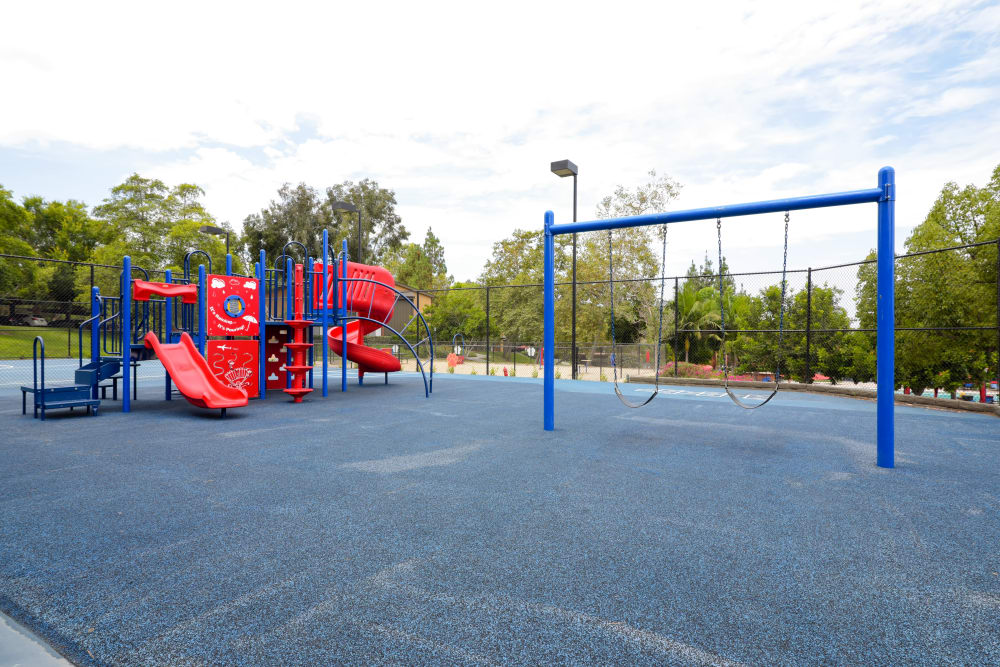 On-site playground at Presidio at Rancho Del Oro in Oceanside