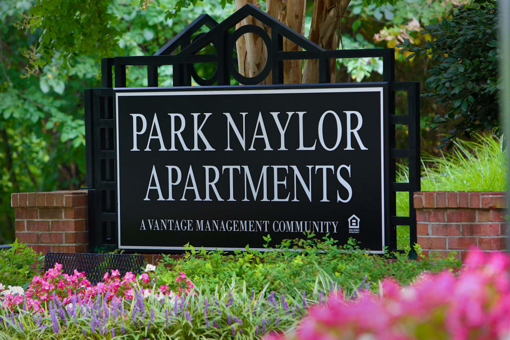 Renovated entryway at Park Naylor Apartments in Washington, District of Columbia