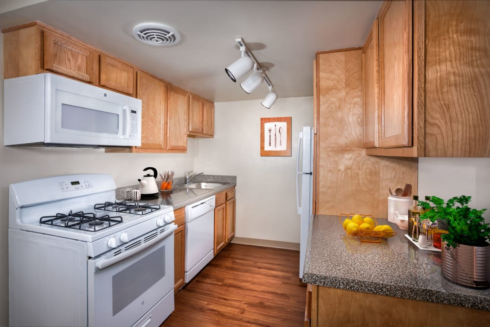Park Naylor Apartments offers a beautiful kitchen in Washington, District of Columbia