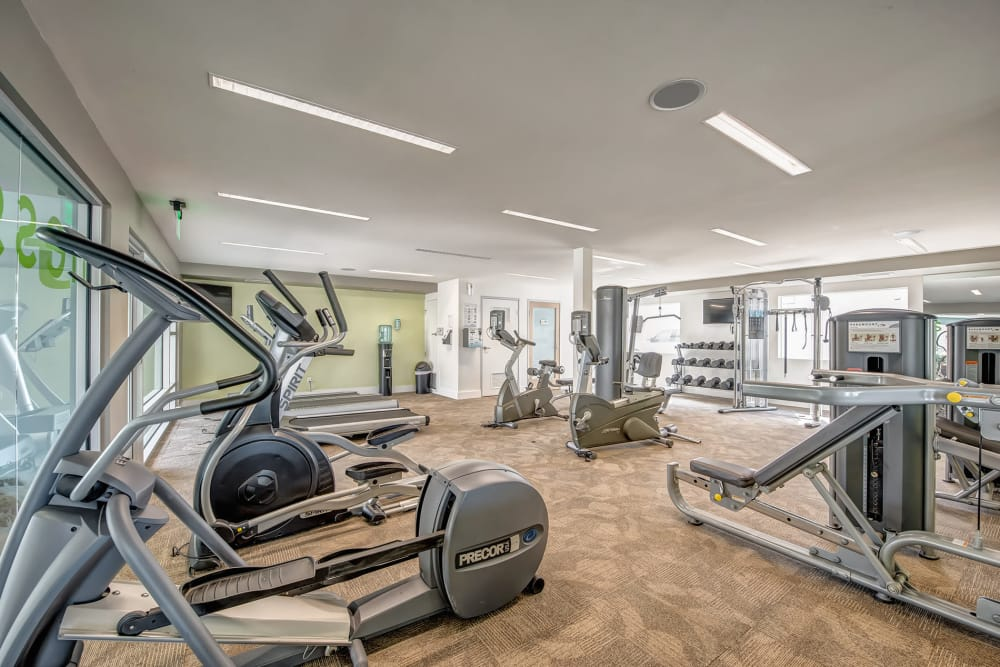 Get a workout in at our on-site fitness center