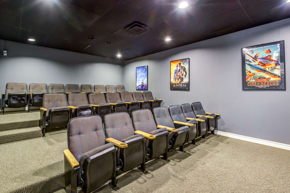 Theatre At Apartments In Garden Grove California