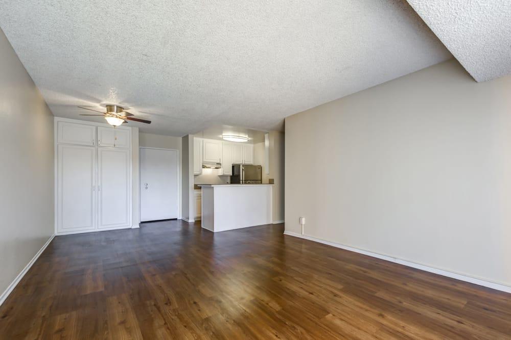 Dining Area At Apartments In Garden Grove California