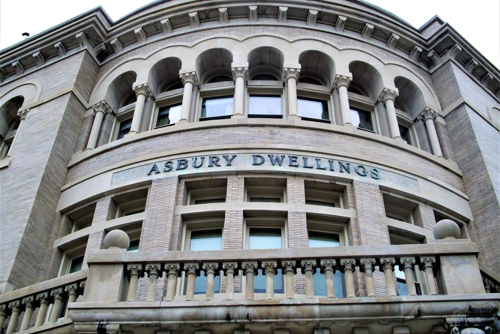 Asbury Dwellings entrance