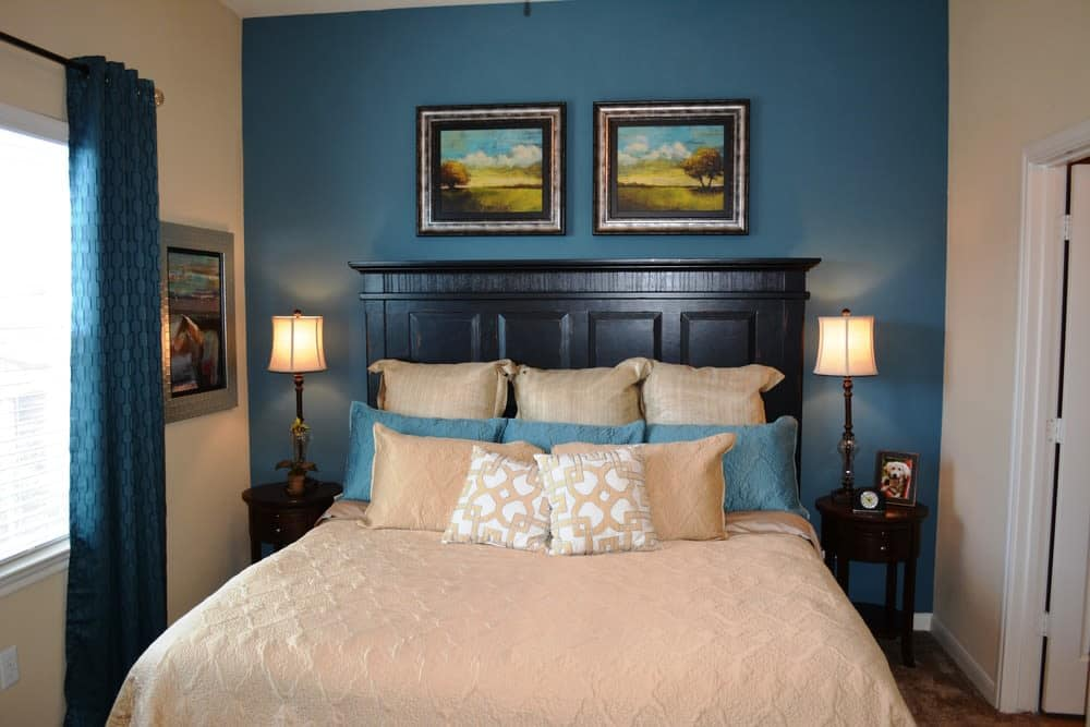 Bedroom options at The Abbey at Stone Oak in San Antonio