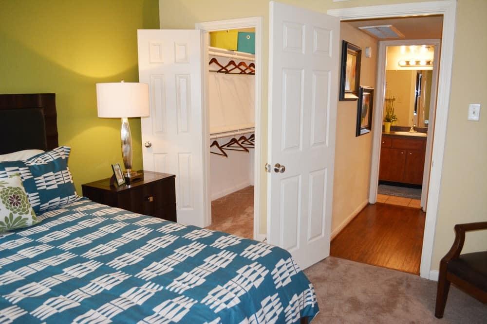 Spacious bedroom at The Abbey at Eldridge in Houston, TX