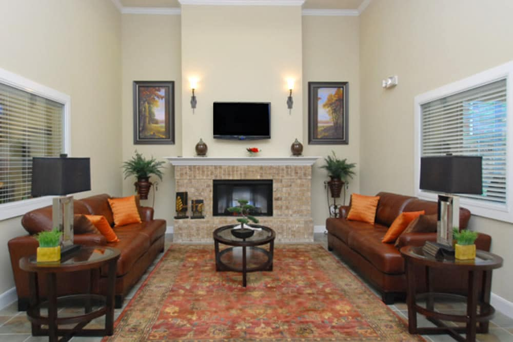 Living room options at The Abbey at Eldridge in Houston