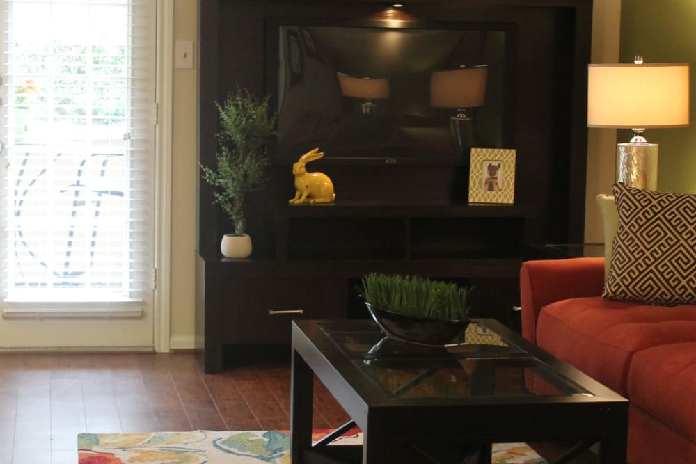 Ample living space at The Abbey at Conroe apartments in Conroe, TX
