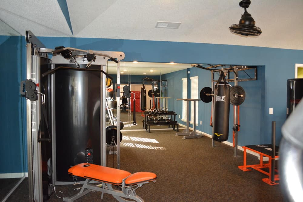 The Abbey at Northlake fitness center in Riviera Beach