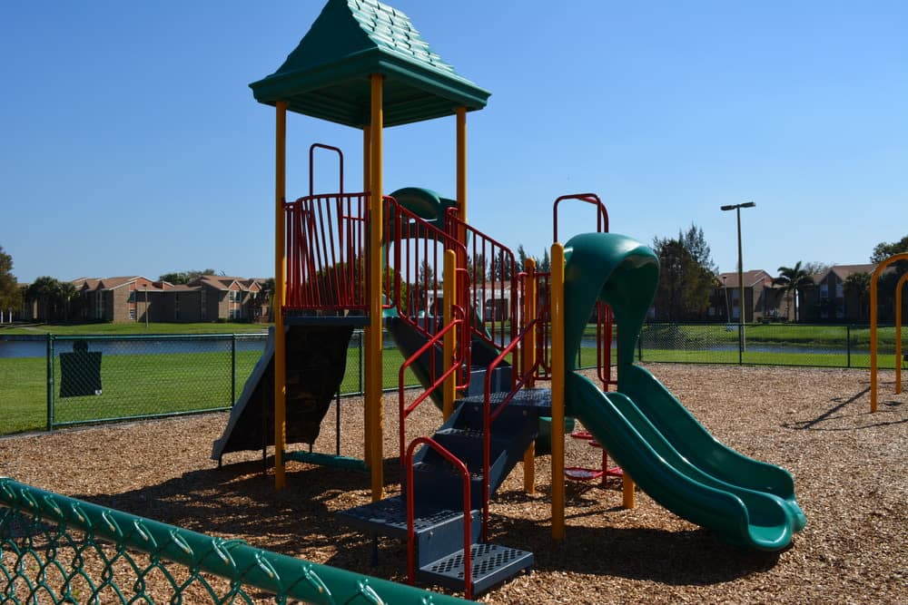Playground at The Abbey at Northlake