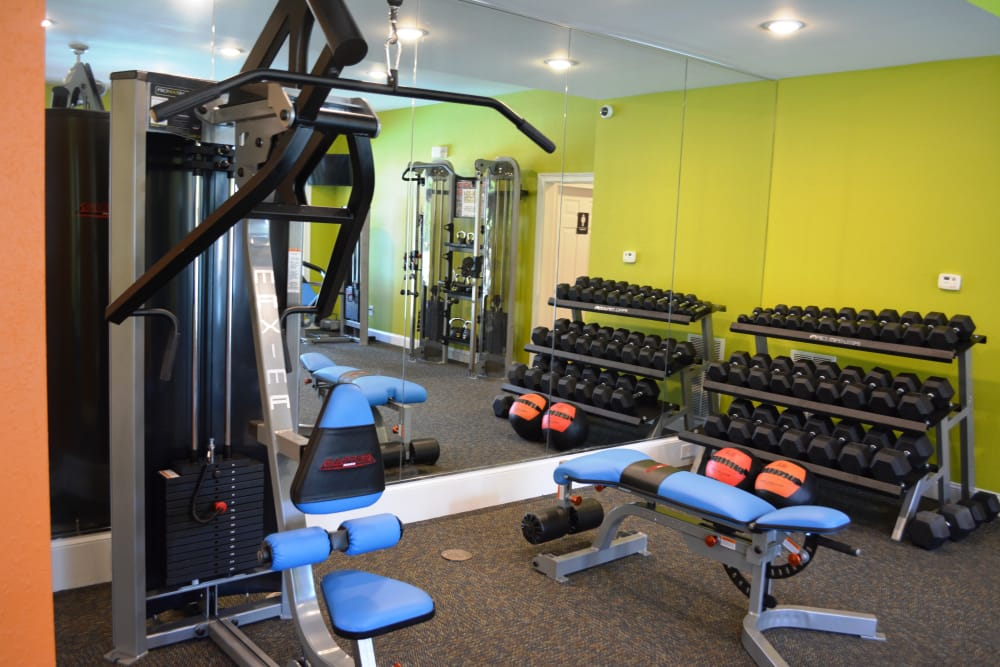 Stay healthy in our fitness center in Stockbridge, GA