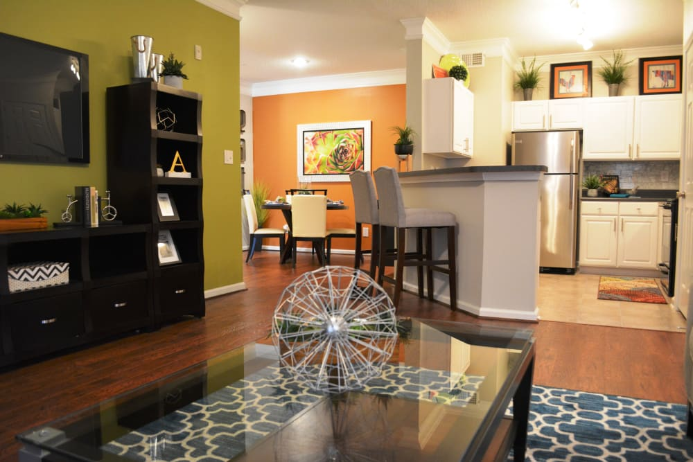 Ample living space at The Abbey at Eagles Landing apartments