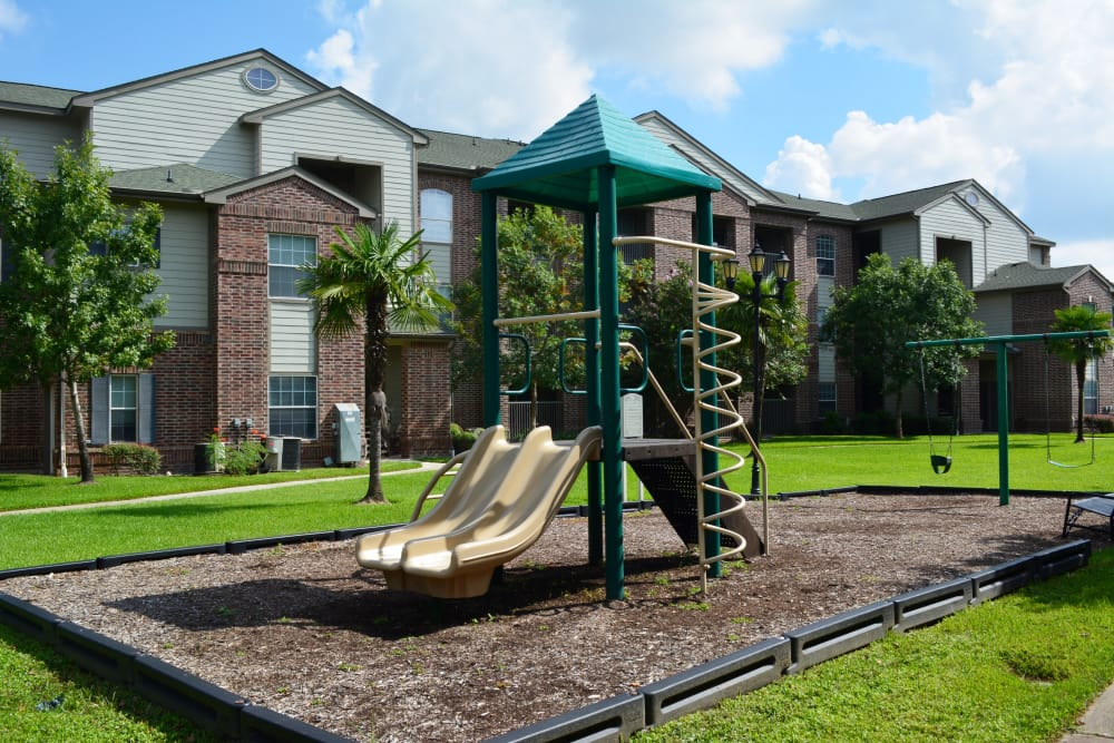 The Abbey at Barker Cypress offers a great for entertaining playground in Houston, TX
