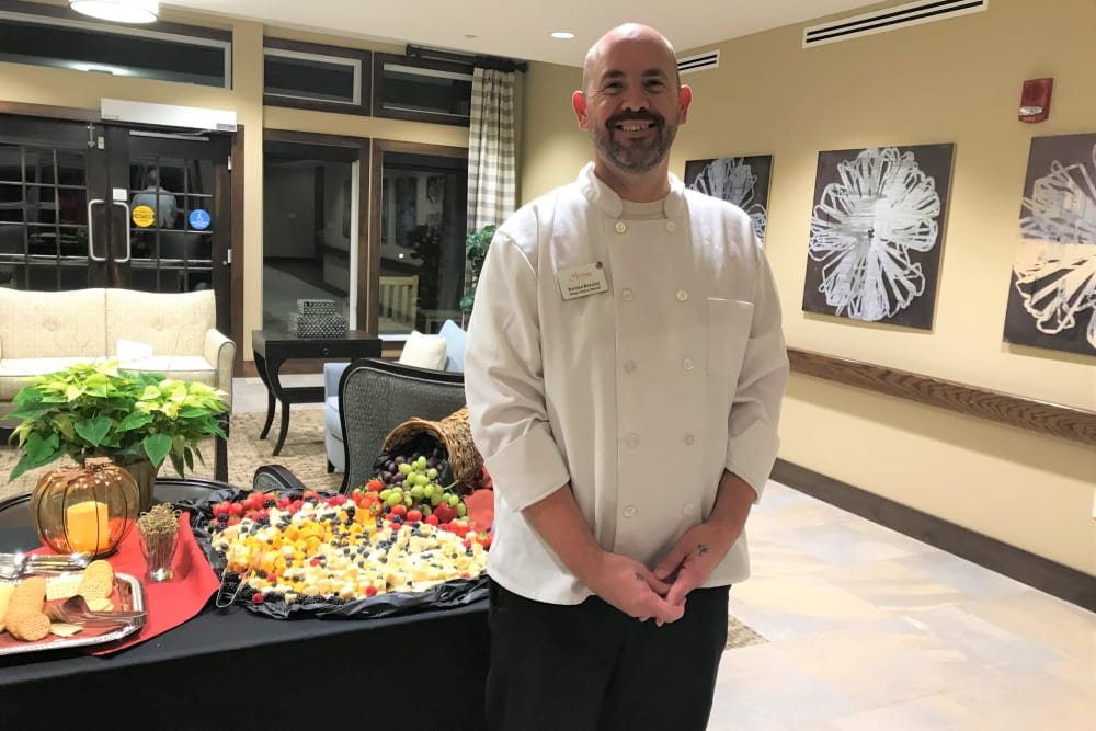 chef at The Heritage at Sagewood