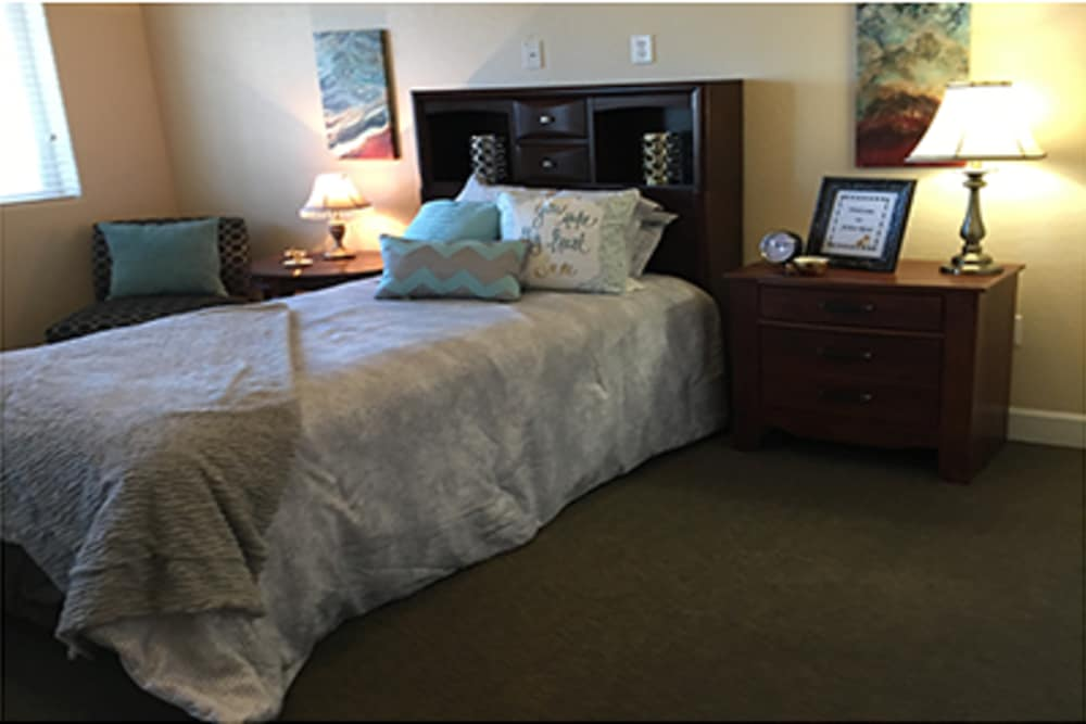 Private apartment at Arbor Rose Senior Care