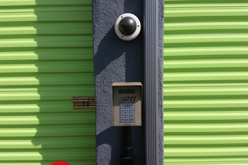 One Stop Storage security keypad