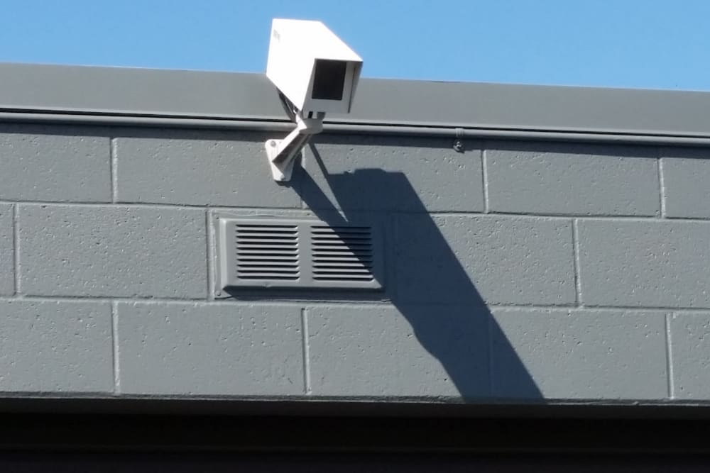Security camera at One Stop Storage